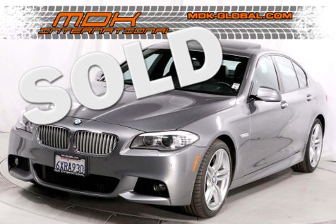 2013 BMW 550i - M Sport pkg - Confort seats - Headup display in Los Angeles