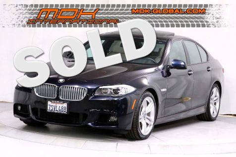 2013 BMW 550i - M Sport - Rear DVD - Executive pkg in Los Angeles