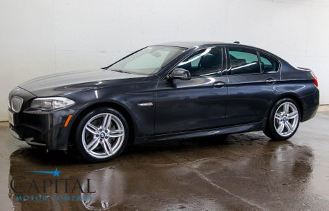2013 BMW 550xi xDrive AWD M-Sport Luxury Car with Navigation, Cold Weather Pkg & Bluetooth Audio in Eau Claire