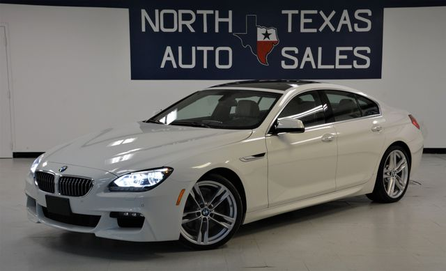2013 BMW 6-Series 640i Gran Coupe M Sport Pkg Pano Navigation