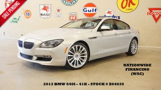 2013 BMW 640i Gran Coupe HUD,ROOF,NAV,BACK-UP,HTD/COOL LTH,20'S,41K in Carrollton, TX 75006
