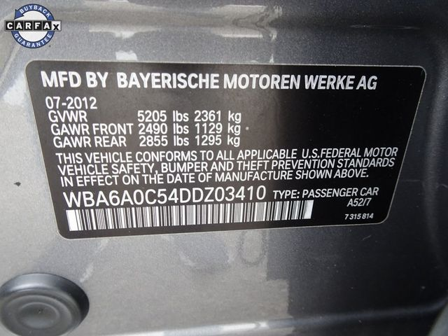 2013 BMW 640i Gran Coupe 640i Gran Coupe Madison, NC 53