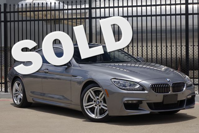 2013 BMW 650i Gran Coupe M-SPORT * Night Vision * B&O Sound * $114,295 MSRP Plano, Texas