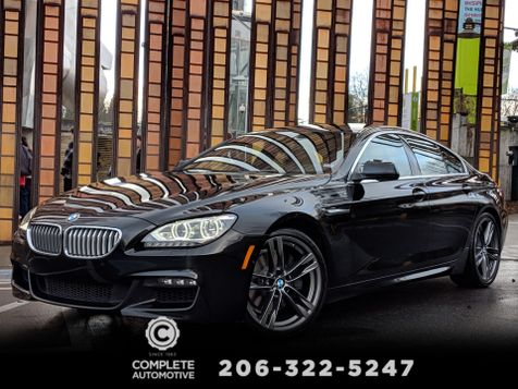2013 BMW 650i xDrive Gran Coupe  M Sport Executive Driver Assistance MSRP $111,845 in Seattle