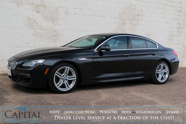 2013 BMW 650xi xDrive AWD Gran Coupe w/M-Sport Pkg, Driver Assist Pkg, Cold Weather Pkg & 445hp V8