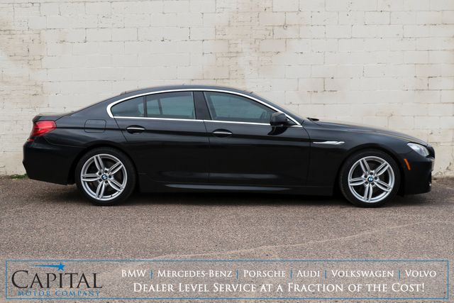 2013 BMW 650xi xDrive AWD Gran Coupe w/M-Sport Pkg, Driver Assist Pkg, Cold Weather Pkg & 445hp V8 in Eau Claire, Wisconsin 54703
