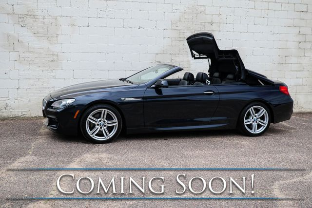 """2013 BMW 650xi xDrive AWD M-Sport Convertible w/Power Top, Executive Pkg, Heated/Cooled Seats & 19"""" Rims in Eau Claire, Wisconsin 54703"""
