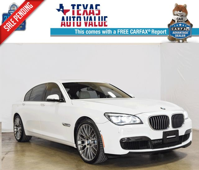 2013 BMW 7 Series 750Li - w/M-Package, Rare Color Combo