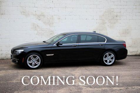 2013 BMW 740Li xDrive AWD w/Executive Package, Heated & Cooled Seats, 16-Speaker Audio & 19