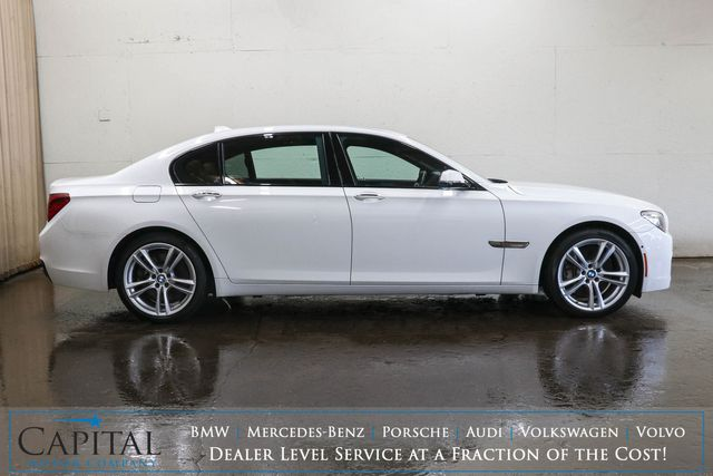"""2013 BMW 750Li xDrive AWD Executive Car w/M-Sport Pkg, Heated/Cooled Comfort Seats, Moonroof & 20"""" Rims in Eau Claire, Wisconsin 54703"""