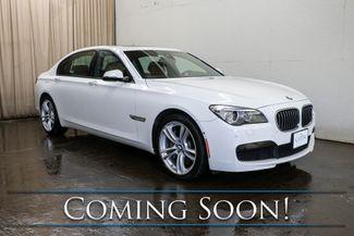 "2013 BMW 750Li xDrive AWD Executive Car w/M-Sport Pkg, Heated/Cooled/Massage Seats, Moonroof & 20"" Wheels in Eau Claire, Wisconsin 54703"
