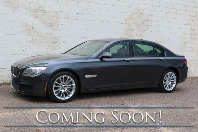 2013 BMW 750Lxi xDrive AWD V8 Executive Sedan w/Nav, Heated/Cooled Seats, Bluetooth Audio & M-Sport Pkg