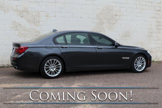 2013 BMW 750Lxi xDrive AWD V8 Executive Sedan w/Nav, Heated/Cooled Seats, Bluetooth Audio & M-Sport Pkg in Eau Claire, Wisconsin 54703