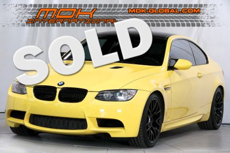 2013 BMW M3  - Competition - 1/23 made Dakar Yellow in Los Angeles