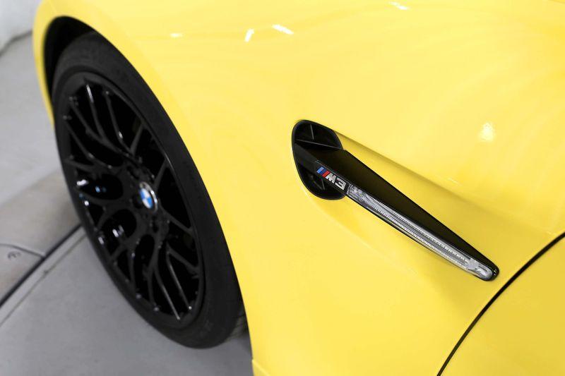 2013 BMW M3  - Competition - 123 made Dakar Yellow  city California  MDK International  in Los Angeles, California