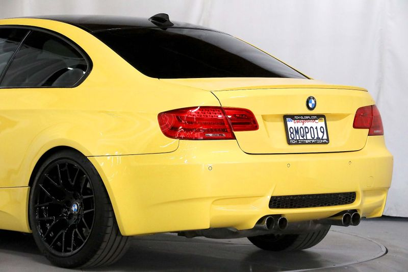 2013 BMW M3  - Competition - 123 made Dakar Yellow  city California  MDK International  in Los Angeles, California
