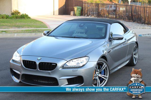 2013 BMW M6 CONVERTIBLE 57K MLS HEAD-UP DISPLAY NAVIGATION SERVICE RECORDS