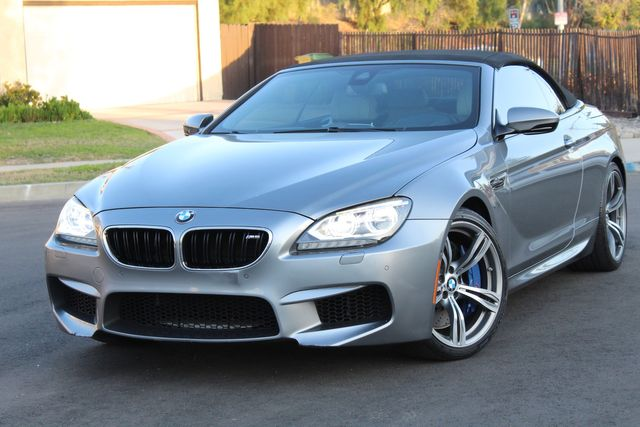 2013 BMW M6 CONVERTIBLE 57K MLS HEAD-UP DISPLAY NAVIGATION SERVICE RECORDS in Van Nuys, CA 91406