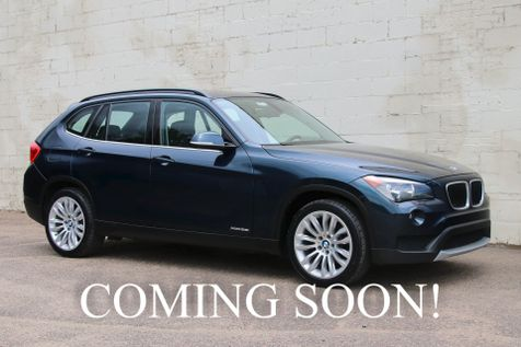 2013 BMW X1 xDrive28i AWD Turbo Crossover w/Navigation, Panoramic Roof, Heated Seats & Bluetooth Audio in Eau Claire