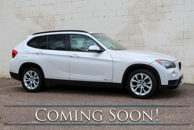 2013 BMW X1 xDrive28i AWD Luxury Crossover w/Nav, Panoramic Roof, Heated Seats & Bluetooth Audio