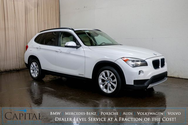 2013 BMW X1 xDrive28i AWD Luxury Crossover w/Nav, Panoramic Roof, Heated Seats & Bluetooth Audio