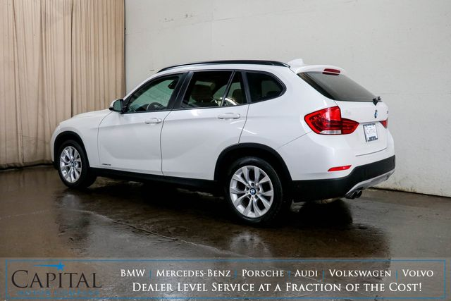 2013 BMW X1 xDrive28i AWD Luxury Crossover w/Nav, Panoramic Roof, Heated Seats & Bluetooth Audio in Eau Claire, Wisconsin 54703