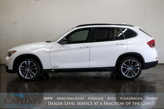 2013 BMW X1 xDrive28i AWD w/Ultimate Pkg, Tech Pkg, Heated Seats, Panoramic Roof & Bluetooth Audio in Eau Claire, Wisconsin 54703
