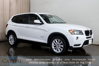 2013 BMW X3 xDrive28i AWD Crossover w/Technology Pkg, Nav, Heated Seats, Panoramic Roof & B.T. Audio in Eau Claire, Wisconsin 54703