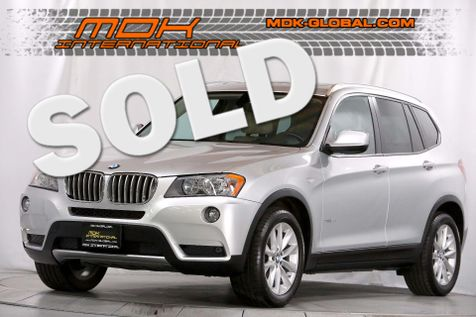 2013 BMW X3 xDrive28i - Navigation - Heated seats in Los Angeles
