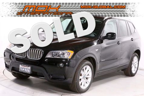 2013 BMW X3 xDrive28i - AWD - Bluetooth - Panoramic sunroof in Los Angeles
