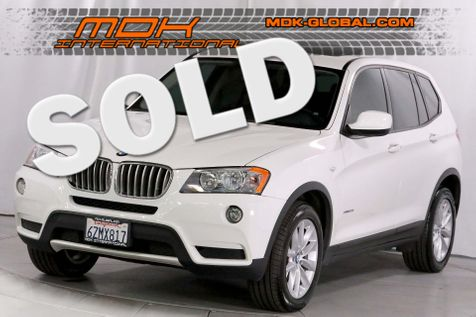 2013 BMW X3 xDrive28i - Navigation - Bluetooth - Panoramic sunroof in Los Angeles