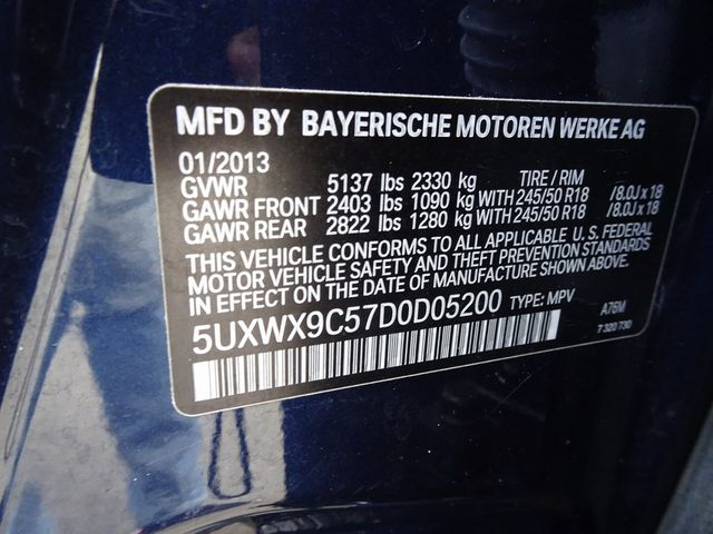 2013 BMW X3 xDrive28i xDrive28i Madison, NC 52