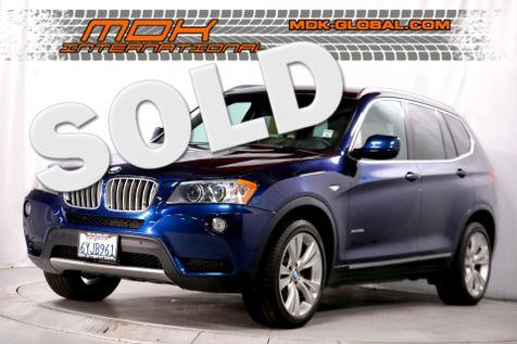 2013 BMW X3 xDrive35i - Navigation - Sport pkg - Head up display in Los Angeles