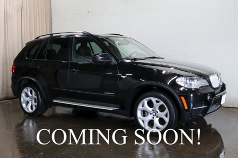 2013 BMW X5 xDrive35d AWD Clean Diesel w/Sport Pkg, Navigation, Heated Seats, Panoramic Roof & Tow Pkg in Eau Claire