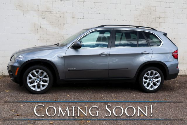 2013 BMW X5 xDrive35d AWD Clean Diesel w/Nav, Backup Cam, Heated Seats, Panoramic Roof & Bluetooth Audio in Eau Claire, Wisconsin 54703