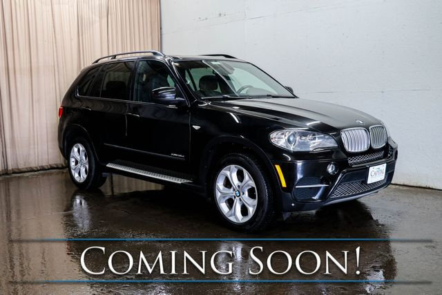 2013 BMW X5 xDrive35d Luxury AWD SUV Crossover w/ Nav, Backup Cam & Twin-Panel Panoramic Moonroof