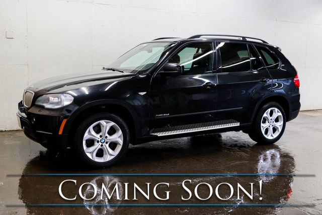2013 BMW X5 xDrive35d Luxury AWD SUV Crossover w/ Nav, Backup Cam & Twin-Panel Panoramic Moonroof in Eau Claire, Wisconsin 54703