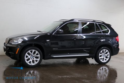 2013 BMW X5 xDrive35i AWD Luxury SUV w/NAV, Backup Cam, Heated Seats, Panoramic Roof & Bluetooth Audio in Eau Claire
