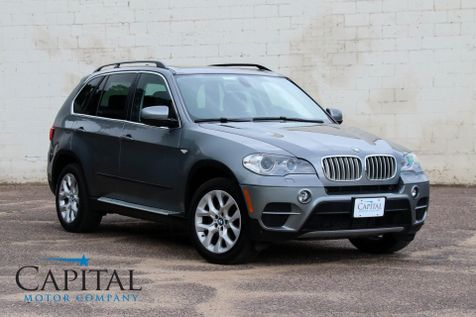2013 BMW X5 xDrive35i AWD Luxury SUV w/Navigation, Heated F/R Seats, Panoramic Roof & Bluetooth Audio in Eau Claire