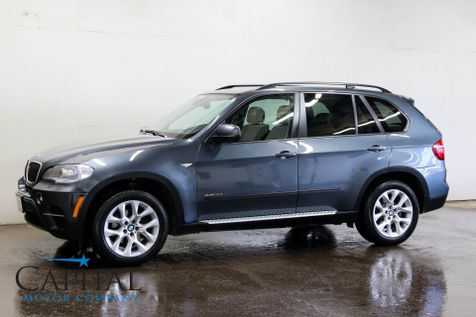 2013 BMW X5 xDrive35i AWD w/Navigation, Rear-View Camera, Heated F/R Seats, Panoramic Roof & Bluetooth Audio in Eau Claire