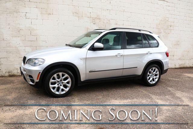 2013 BMW X5 xDrive35i AWD Crossover w/3rd Row Seats, Navigation, Backup Cam, Heated Seats & Hi-Fi Audio