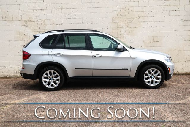 2013 BMW X5 xDrive35i AWD Crossover w/3rd Row Seats, Navigation, Backup Cam, Heated Seats & Hi-Fi Audio in Eau Claire, Wisconsin 54703