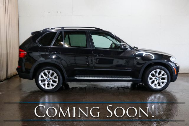 2013 BMW X5 xDrive35i AWD w/Nav, Backup Cam, Cold Weather Pkg, Panoramic Roof & Bluetooth Audio