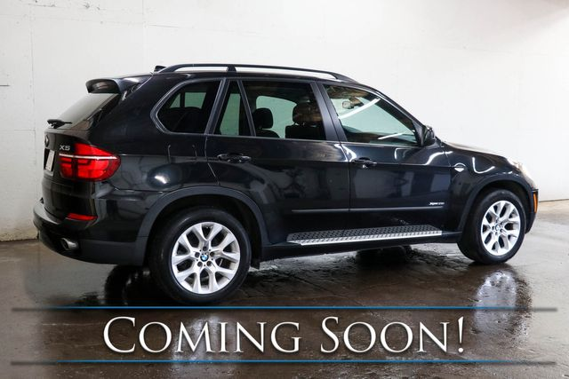 2013 BMW X5 xDrive35i AWD w/Nav, Backup Cam, Cold Weather Pkg, Panoramic Roof & Bluetooth Audio in Eau Claire, Wisconsin 54703