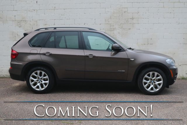 """2013 BMW X5 xDrive35i AWD Sport SUV w/Panoramic Moonroof, Cold Weather Pkg, Bluetooth Audio & 19"""" Wheels in Eau Claire, Wisconsin 54703"""