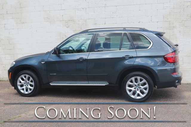 2013 BMW X5 xDrive35i AWD SUV w/Navigation, Backup Cam, Heated Seats, Panoramic Moonroof & Bluetooth Audio in Eau Claire, Wisconsin 54703