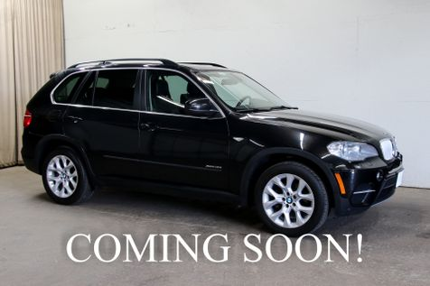 2013 BMW X5 xDrive35i AWD SUV w/Navigation, Backup Cam, Heated Seats, Soft-Close Doors & Panoramic Roof in Eau Claire