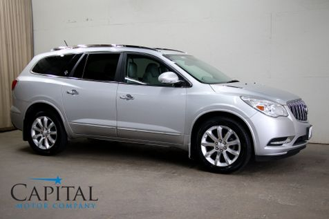 2013 Buick Enclave Premium AWD SUV w/3rd Row Seats Navigation Backup Cam Heated/Cooled Seats & DVD Entertainment in Eau Claire