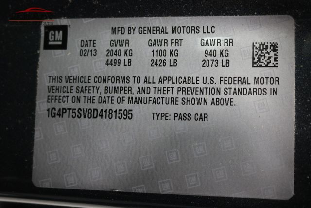2013 Buick Verano Premium Group Merrillville, Indiana 48