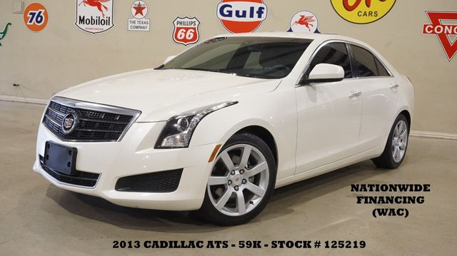 2013 Cadillac ATS HEATED LEATHER,BOSE,17IN WHLS,59K,WE FINANCE